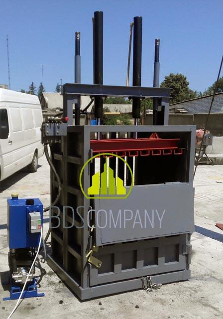 Гидропресс для переработки вторсырья 16 т (2 цилиндра)