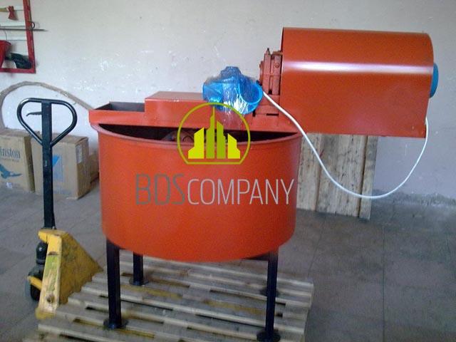 Бетоносмеситель БС - 250 принудительного типа
